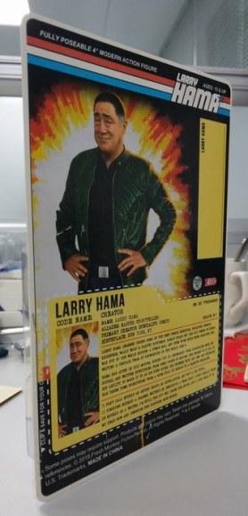 Fresh Monkey Fiction Larry Hama Action Figure Packaging Mock Ups - Surveillance Port 03