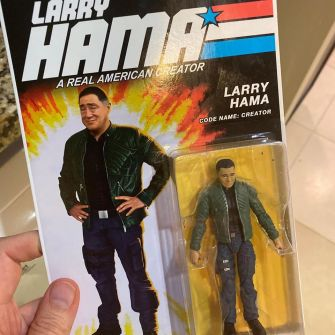 Fresh Monkey Fiction Larry Hama Action Figure - Surveillance Port 01