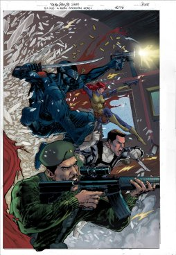 GI Joe 276 Comic Cover Sneak Peek Tom Waltz - Surveillance Port 0