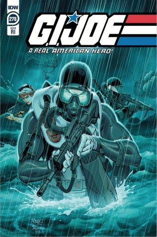 GI Joe 276 RI Comic Cover Sneak Peek Tom Waltz - Surveillance Port 0