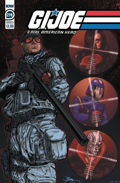 GI Joe 278 Comic Cover Sneak Peek Tom Waltz - Surveillance Port