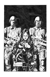 GI Joe Comic Cover Sneak Peek Tom Waltz - Surveillance Port 01