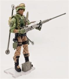 HEAVY MACHINE GUNNER Geared-Up MTF Male Trooper - Surveillance Port (2)