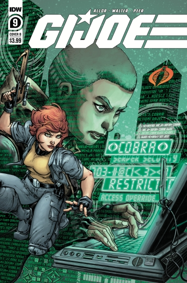 IDW GI JOE #9 CVR B WILLIAMS II - Surveillance Port