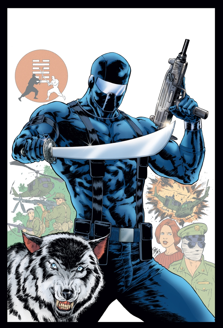 IDW GI JOE A REAL AMERICAN HERO SNAKE EYES ORIGIN - Surveillance Port