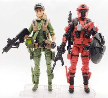 Marauder Gun Runners Marauder Task Force Geared Up Value Figures - Surveillance Port 02