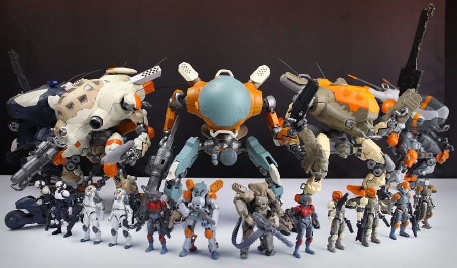 TeccoToys Age of Mecha Line Up - Surveillance Port