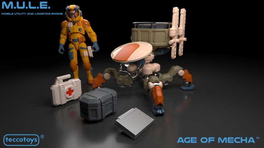 TeccoToys Age of Mecha M.U.L.E. - Surveillance Port 01