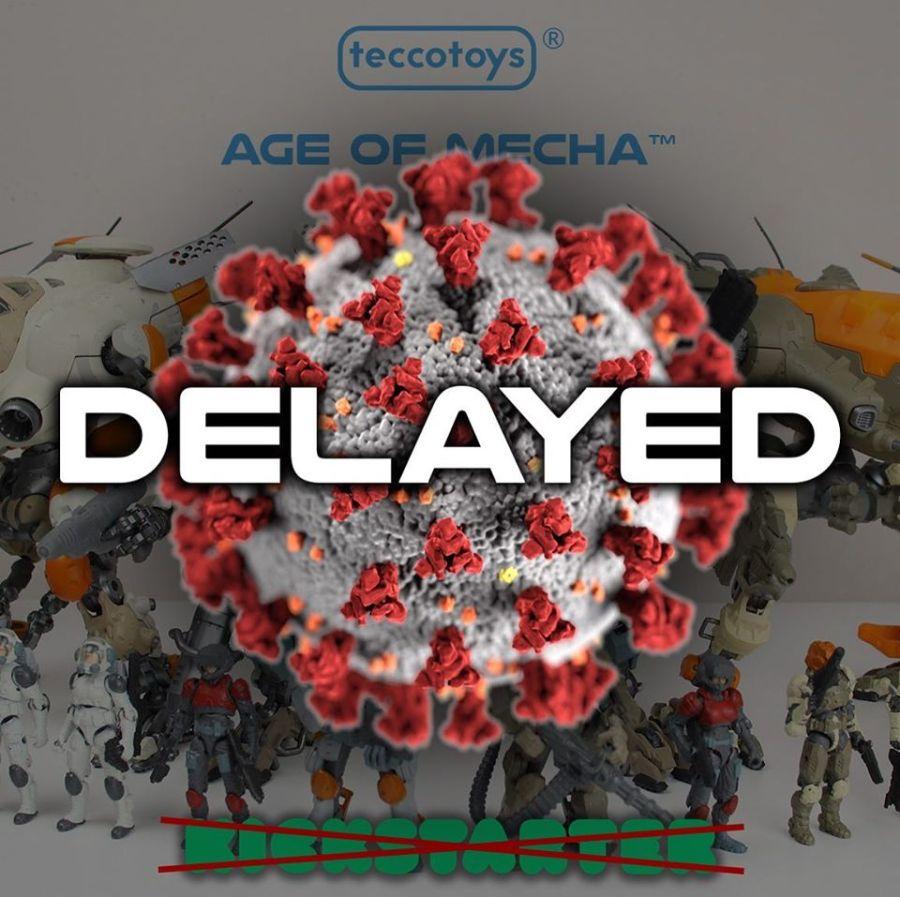 TeccoToys COVID-19 Delay Notice - Surveillance Port