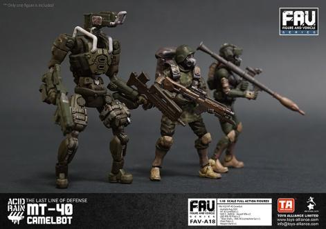 Toys Alliance x Acid Rain FAV-A18 MT-40 Camelbot - Surveillance Port 05