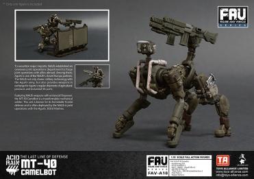 Toys Alliance x Acid Rain FAV-A18 MT-40 Camelbot - Surveillance Port 06