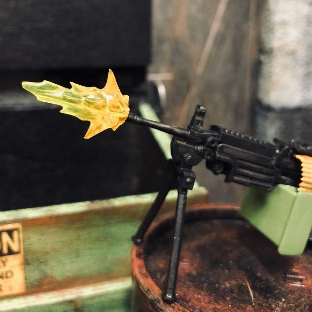 ValaVerse Action Force Weapons Pack Bravo set - Surveillance Port 09