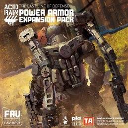 Acid Rain TA FAV-AP01 Power Armor Expansion Pack - Surveillance Port 01