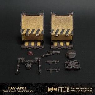 Acid Rain TA FAV-AP01 Power Armor Expansion Pack - Surveillance Port 02