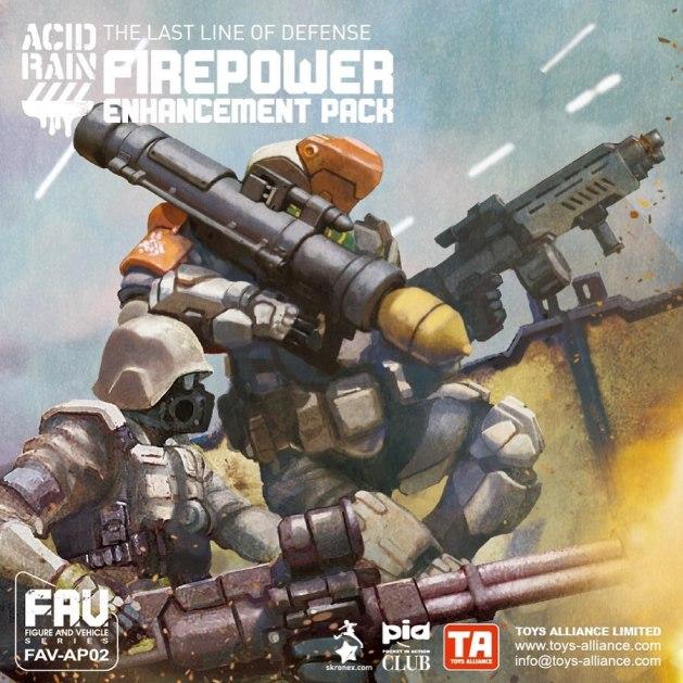 Acid Rain TA FAV-AP02 Firepower Enhancement Pack - Surveillance Port 01