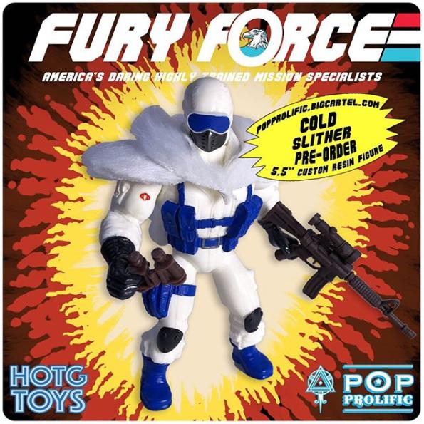 Fury Force Cold Slither - Surveillance Port