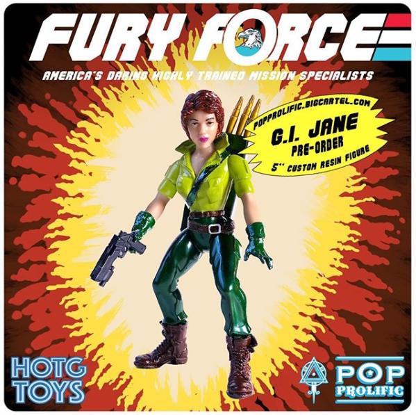 Fury Force GI Jane - Surveillance Port