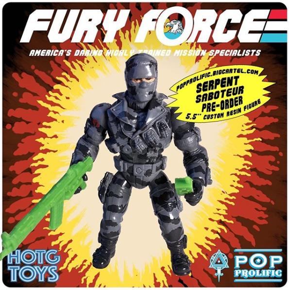 Fury force Serpent Saboteur - Surveillance Port