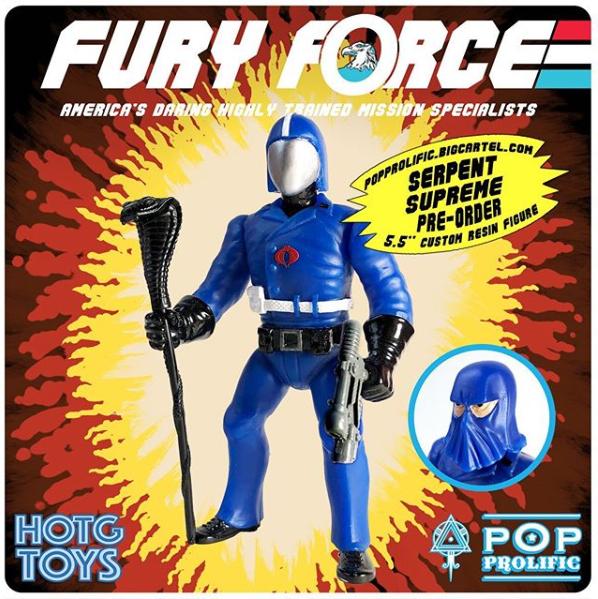 Fury Force Serpent Supreme - Surveillance Port