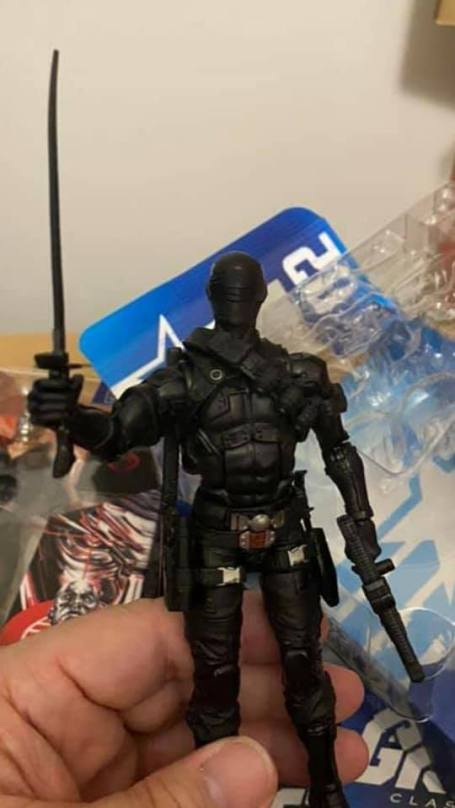 G.I.Joe Classified Retail Release Snake Eyes Jim Nantz - Surveillance Port 01