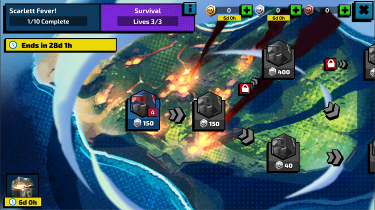 GI Joe War On Cobra Survival Event - Surveillance Port