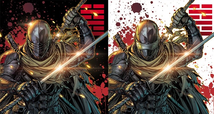 IDW Snake Eyes Dead Game Jonboy Meyers Exclusive Covers - Surveillance Port 00