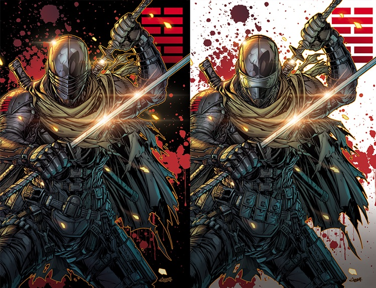 IDW Snake Eyes Dead Game Jonboy Meyers Exclusive Covers - Surveillance Port