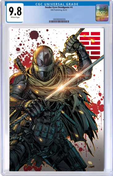 IDW Snake Eyes Dead Game Jonboy Meyers Variant Cover - Surveillance Port