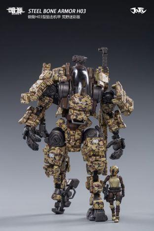 Joy Toy 1_25 Inch Scale SOURCE series STEEL BONE H-03 sniper - Surveillance Port 05