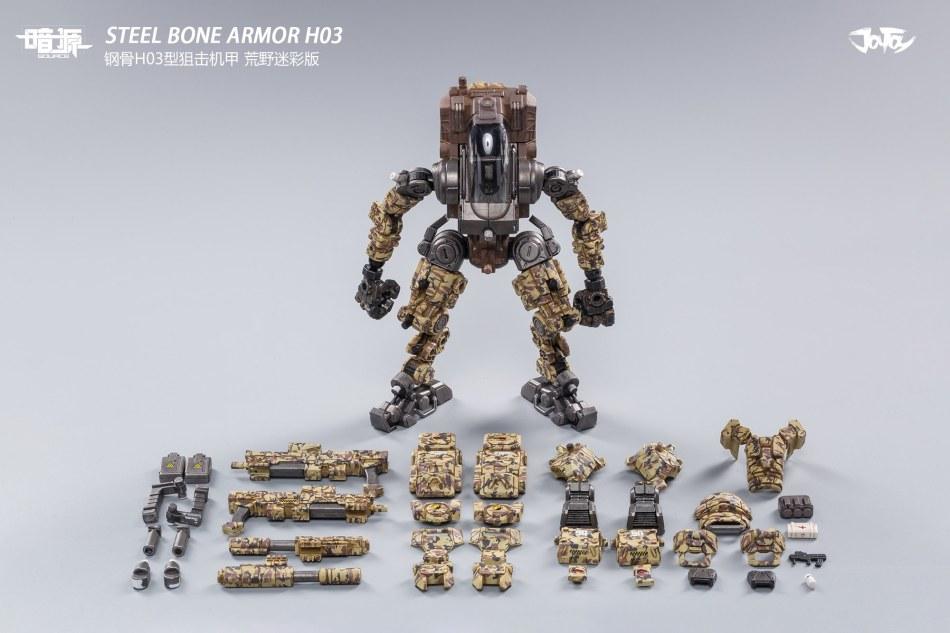 Joy Toy 1_25 Inch Scale SOURCE series STEEL BONE H-03 sniper - Surveillance Port 12