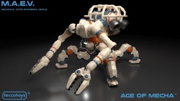TeccoToys Age of Mecha MAEV - Surveillance Port 01