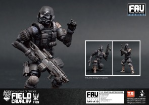 Toys Alliance x Acid Rain FAV-A19 Field Cavalry - Surveillance Port 03