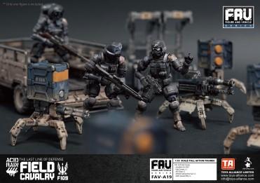 Toys Alliance x Acid Rain FAV-A19 Field Cavalry - Surveillance Port 06