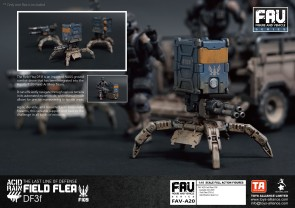 Toys Alliance x Acid Rain FAV-A20 Field Flea DF3f - Surveillance Port 04