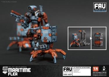 Toys Alliance x Acid Rain FAV-A21 Maritime Flea - Surveillance Port 02