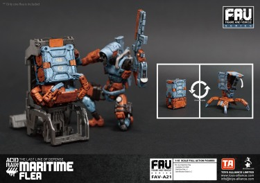 Toys Alliance x Acid Rain FAV-A21 Maritime Flea - Surveillance Port 03