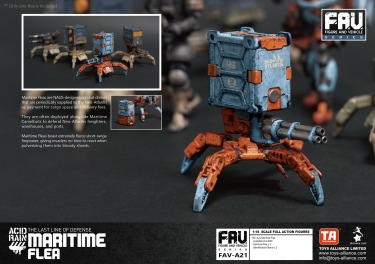 Toys Alliance x Acid Rain FAV-A21 Maritime Flea - Surveillance Port 04