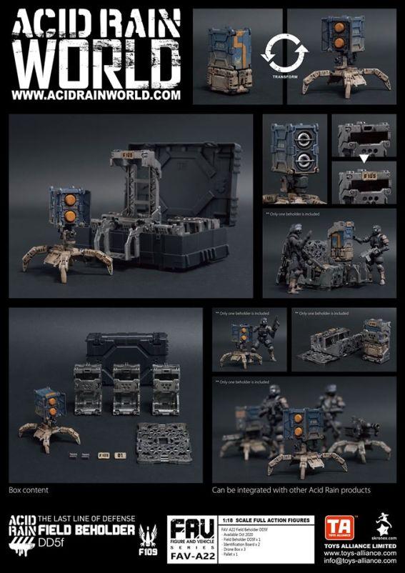 Toys Alliance x Acid Rain FAV-A22 Beholder DD5f - Surveillance Port 01