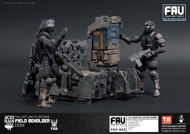Toys Alliance x Acid Rain FAV-A22 Beholder DD5f - Surveillance Port 05