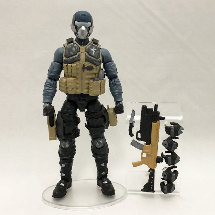 ValaVerse Action Force Prototype Steel Brigade - Surveillance Port