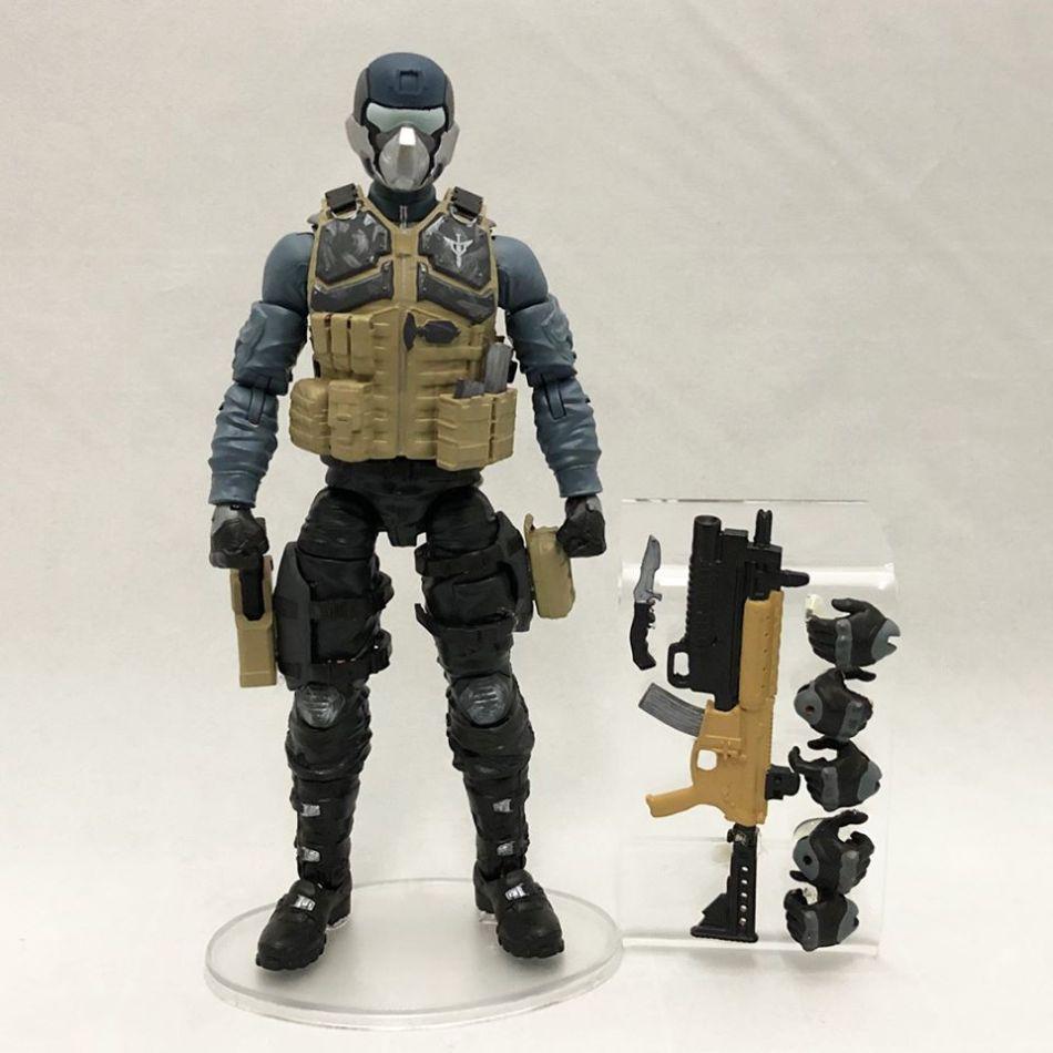 ValaVerse Action Force Prototype Steel Brigade - Surveillance Port