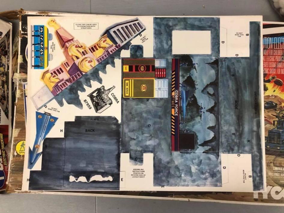 1984 Tyco G.I.Joe Electric Trucking Set 3DJoes - Surveillance Port 02