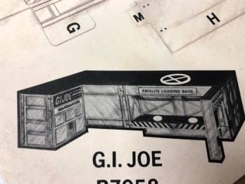 1984 Tyco G.I.Joe Electric Trucking Set 3DJoes - Surveillance Port 05