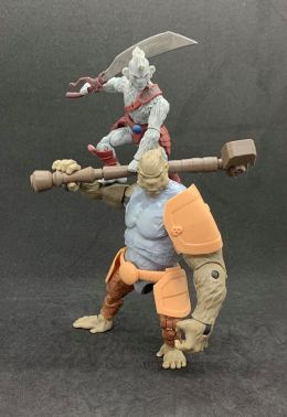 Animal Warriors of the Kingom Deluxe Figures - Surveillance Port 01