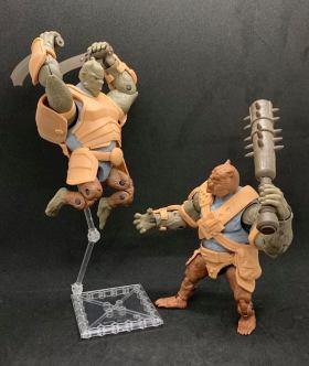 Animal Warriors of the Kingom Deluxe Figures - Surveillance Port 12