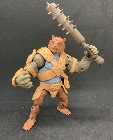 Animal Warriors of the Kingom Deluxe Figures - Surveillance Port 21