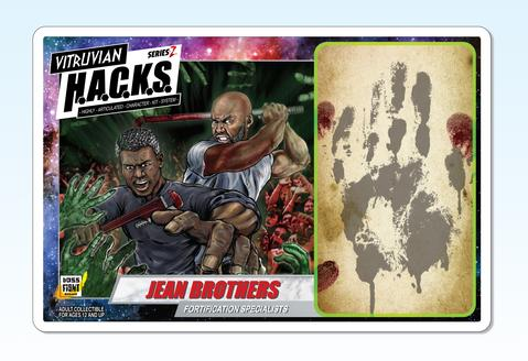 Boss Fight Studio Vitruvian HACKS Series Z Collection Jean Brothers - Surveillance Port 03