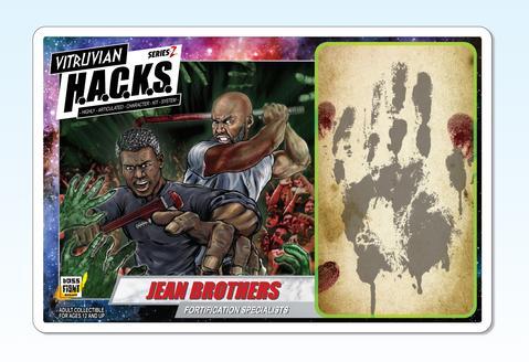 Boss Fight Studio Vitruvian HACKS Series Z Collection Jean Brothers - Surveillance Port 03
