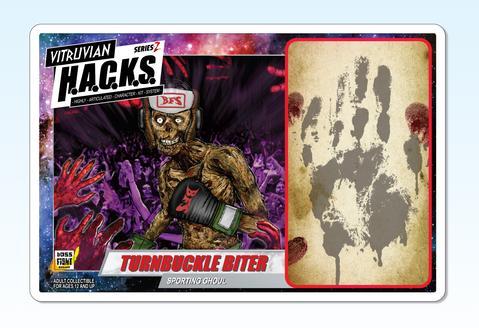 Boss Fight Studio Vitruvian HACKS Series Z Collection Turnbuckle Biter - Surveillance Port 03