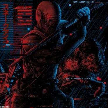G.I.Joe Classified Snake Eyes Tee Shirt Art - Surveillance Port